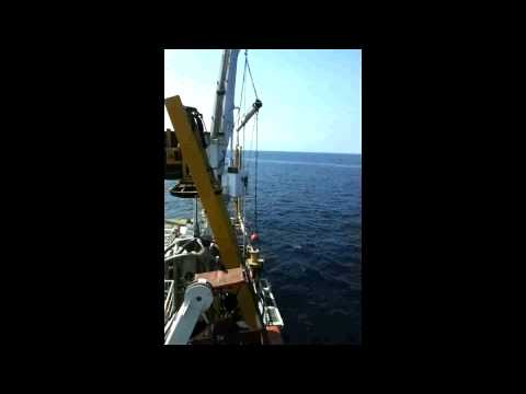 Jumper launched at sea in Angola by Bourbon Vissolela