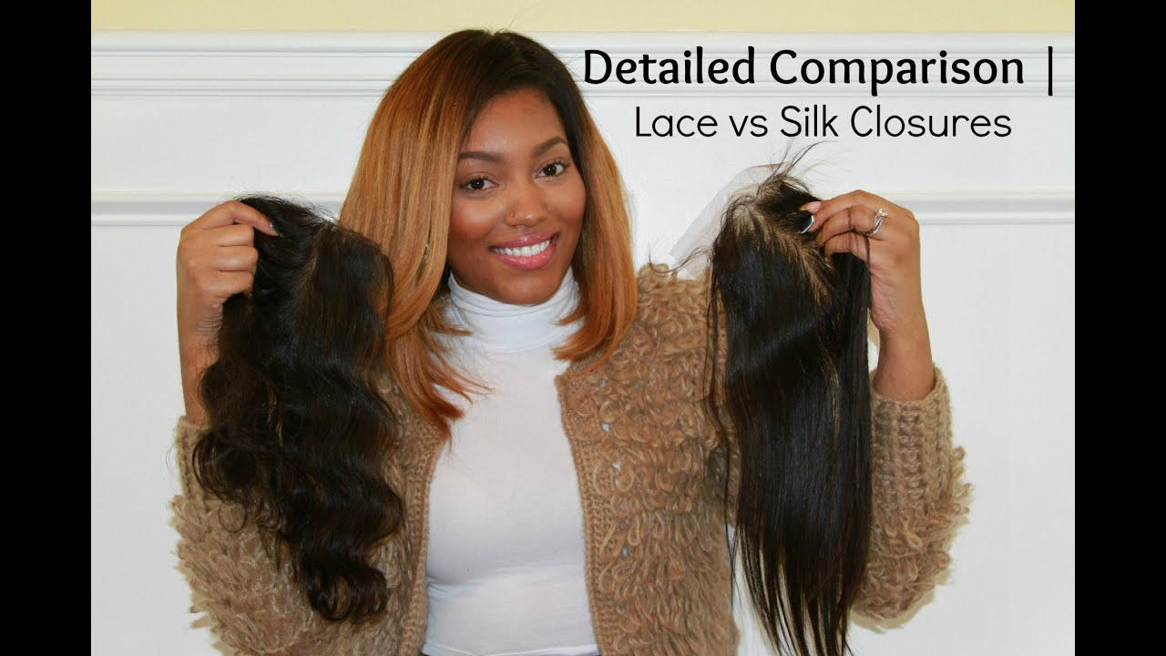 Where to buy hair closures - Lace Vs Silk Closures Detailed Comparision Feat Bestlacewigs Closures Youtube