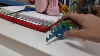 닌자거북이랑공룡에싸움