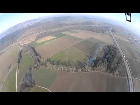 RC Helicopter Stunts - Go Pro and Parrot Drone fly very high