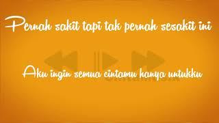 Azmi - Pernah - lirik - KARAOKE - (by - Cinta musik)