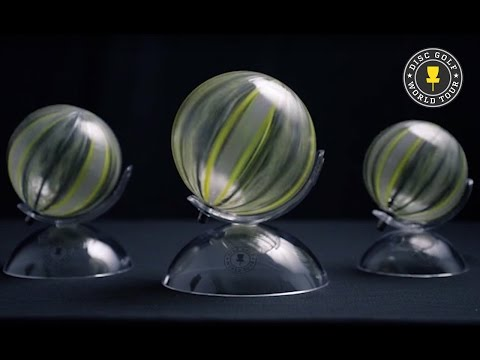 How The Disc Golf World Tour Trophies Are Made