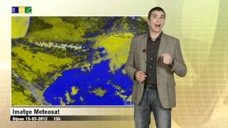 Predicció 16-03-2012 Meteocat: Boires i boirines al litoral.