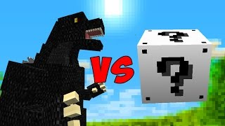 LUCKY BLOCK DA PAZ VS. GODZILLA (MINECRAFT LUCKY BLOCK CHALLENGE)