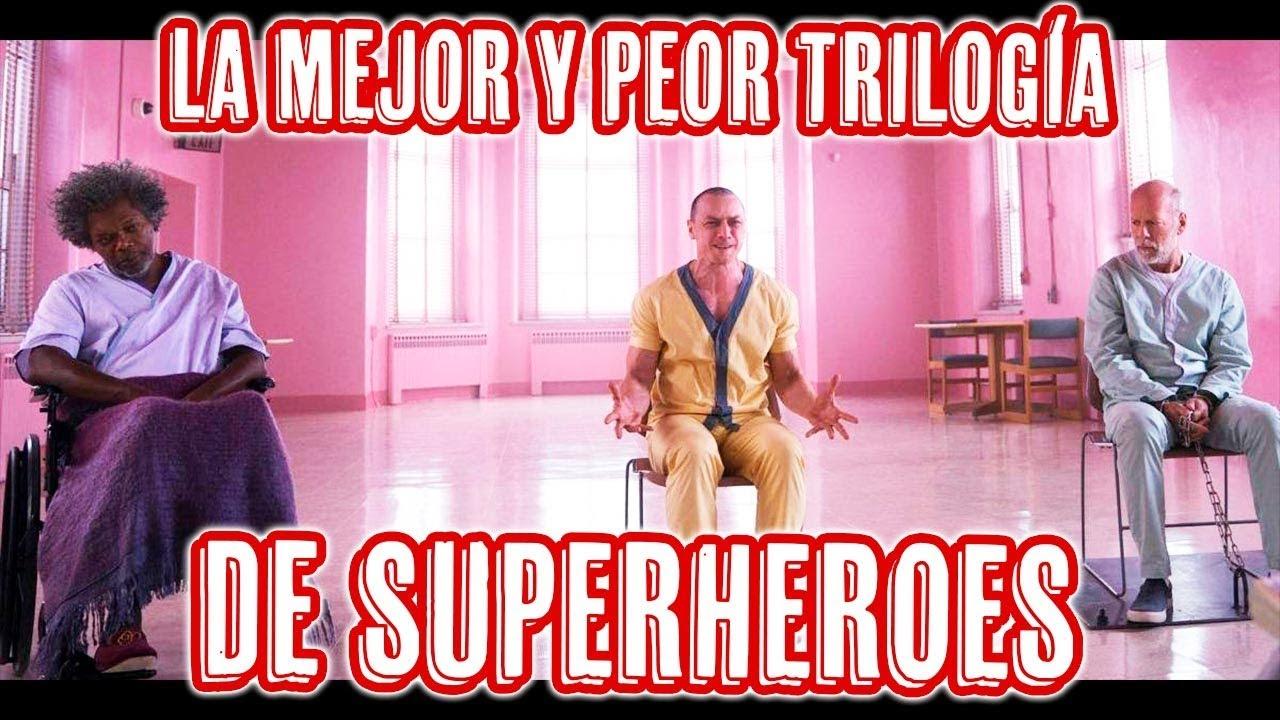 Ver 🔴 TARDE DE CINE: UNBREAKABLE, SPLIT y GLASS | TRILOGÍA SUPERHERÓICA en Español