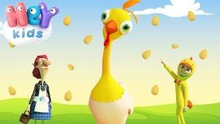 Kura Jajodajka - Nauka liczenia dla dzieci - Piosenki dla dzieci