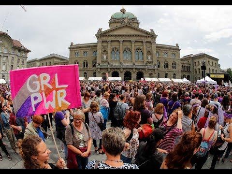 نساء سويسرا ينتفضن للمساواة في الأجور  - نشر قبل 5 ساعة