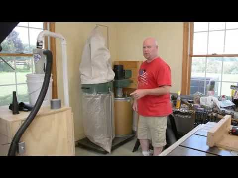 Harbor Freight 2HP Dust Collector Modification Overview
