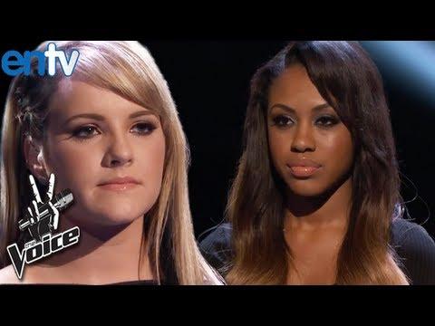 Sasha Allen and Amber Carrington Eliminated - The Voice Season 4