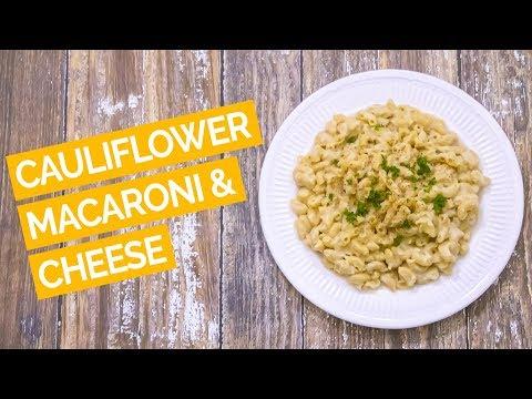 Vegan Mac and Cheese (Cauliflower Cheese Sauce)