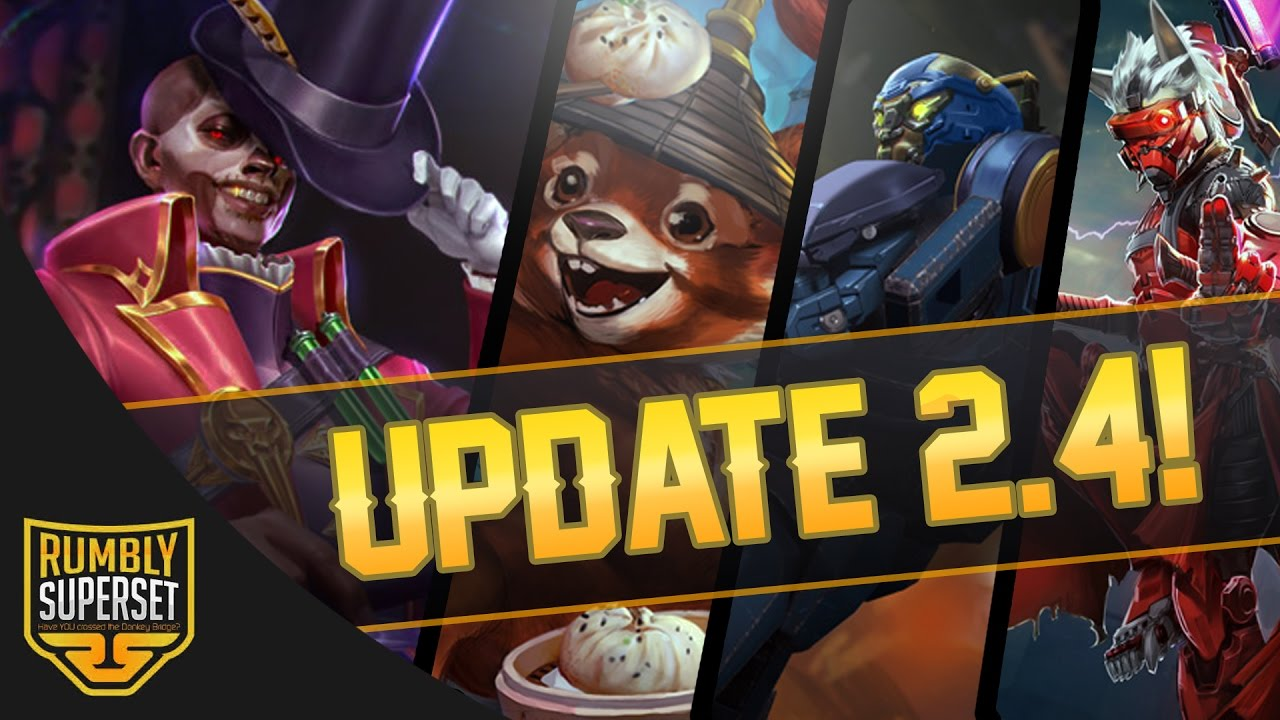 New Vainglory Update