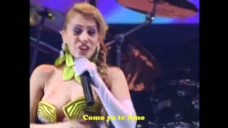 BANDA CALYPSO-ANGEL BANDIDO -sub español - karaoke