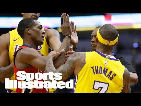 Rajon Rondo, Isaiah Thomas Ejected After Spat Over Tribute Video | SI Wire | Sports Illustrated