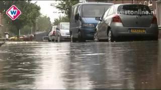 Wateroverlast in Leidse wijk de Kooi - Westonline.nl