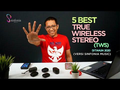 5 Best True Wireless Stereo (TWS) Di Tahun 2020 (Versi Sinfonia Music)