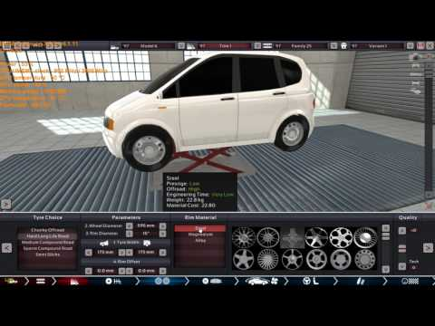 1997 Kei Car build in the old version of Automation.