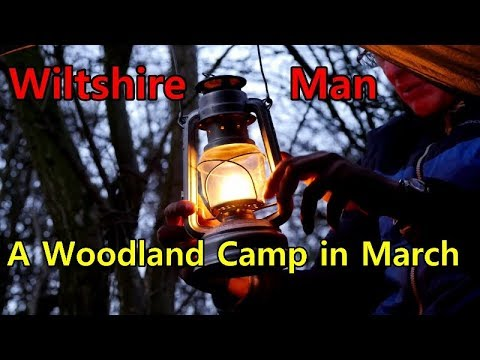 A Woodland Camp in March | Wiltshire Man