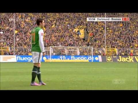 Mesut Ozil - Werder Bremen V Borussia Dortmund