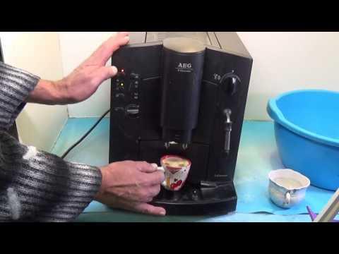 Кофемашина AEG Electrolux выдает ошибку