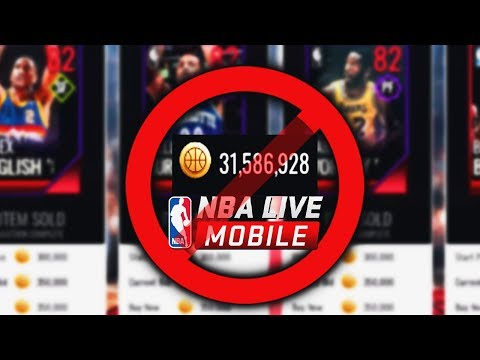 EA ENDED COIN SELLING IN NBA LIVE MOBILE 18