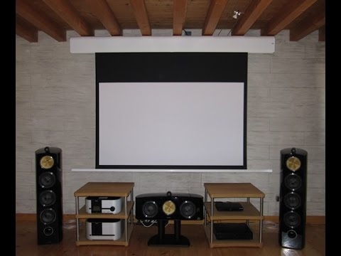 Bensotech audio video sala home cinema a venezia youtube - Sala home cinema ...