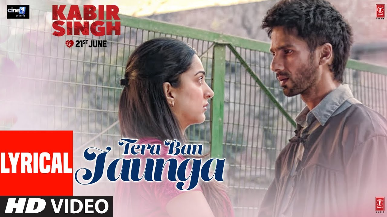 Tera Ban Jaunga | Kabir Singh | Shahid K, Kiara A, Sandeep V