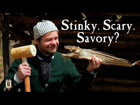 Sailor Rations - Stockfish Aboard Ship