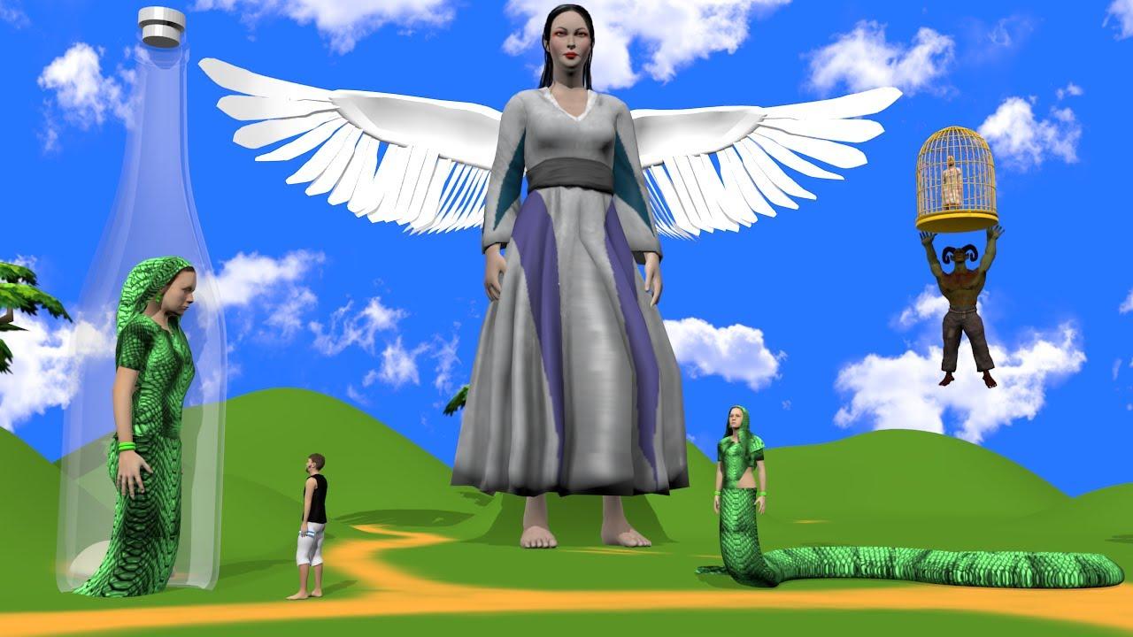 नागिन सोतेली माँ 2 - Serpent Stepmother Hindi Kahaniya | Moral Stories Hindi Kahani हिंदी कहानिया |