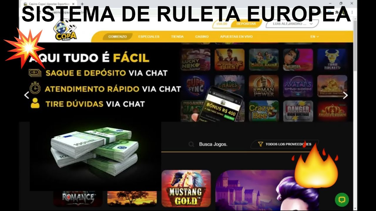 Sistema de ruleta europea➡jugando en Casino Copa 2020 💪