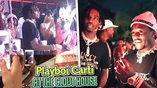 PLAYBOI CARTI'S BIRTHDAY PARTY AT MY HOUSE *cops came* thumbnail