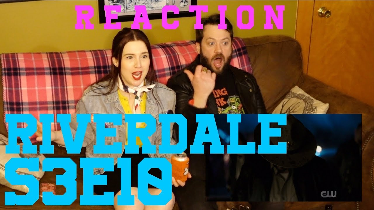 "Download Riverdale REACTION S3E10 ""The Stranger"""
