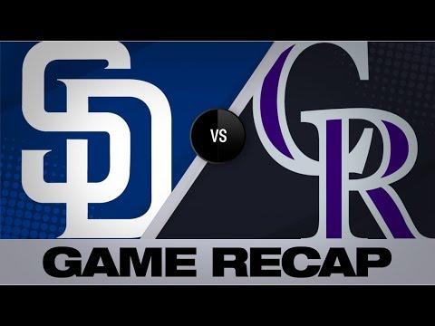 McMahon, Fuentes rake in 10-5 win | Padres-Rockies Game Highlights 9/15/19