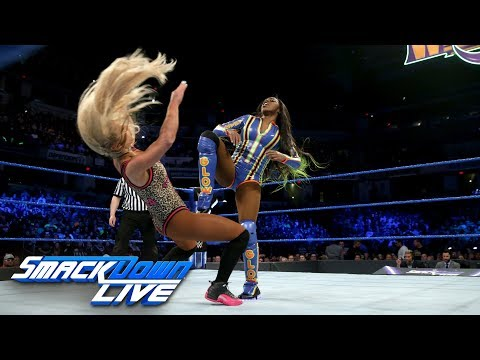 Naomi Vs. Carmella: SmackDown LIVE, March 13, 2018