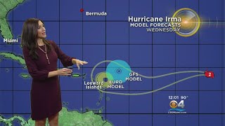 Hurricane Irma Now A Cat. 2, Expected To Remain Powerful