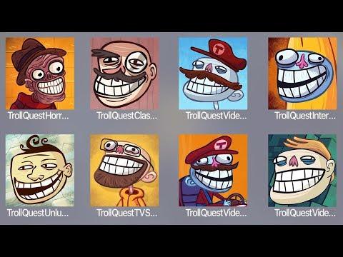 Troll Quest Horror 2,Troll Classic,Troll Video,Troll Internet,Troll Unlucky,Troll TV,Troll Video