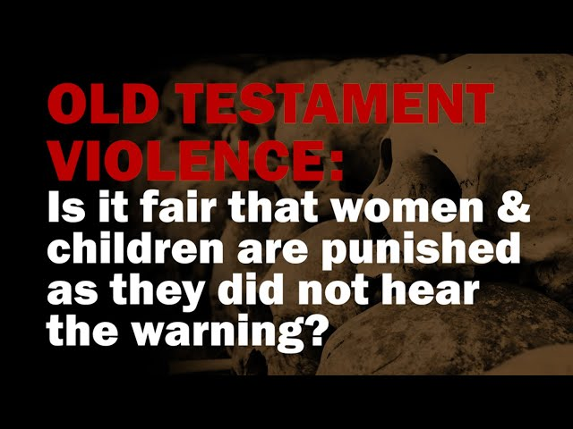 Is it fair that women & children are punished as they did not hear the warning?