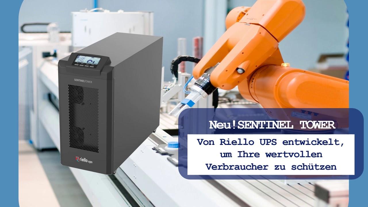 Sentinel Tower  Die neue USV für den Leistungsbereich von 5 - 10 kVA