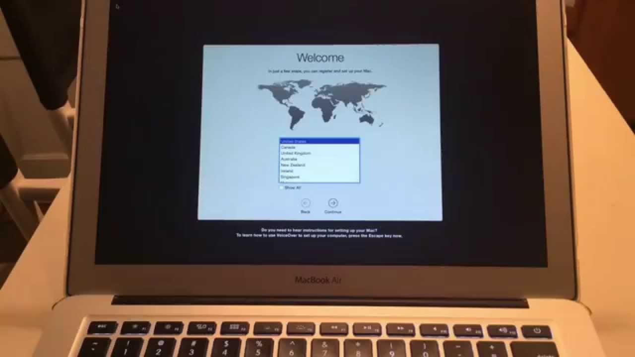 Restore Mac To Factory Settings Without Disc Macbook Pro Air Imac Retina Display Mini Youtube