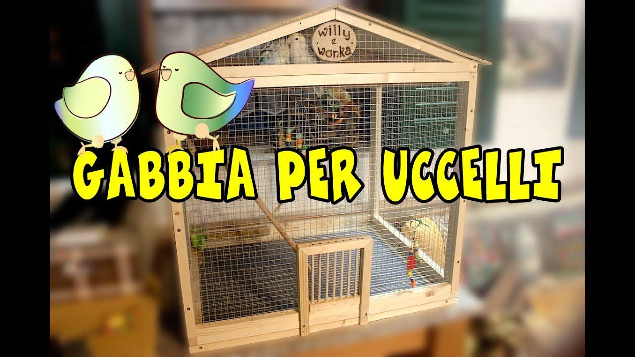 Gabbia per uccelli diy birdcage youtube for Casette per conigli fai da te