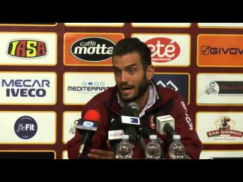 Salernitana - Perugia 1-1, intervista post gara a Riccardo Colombo