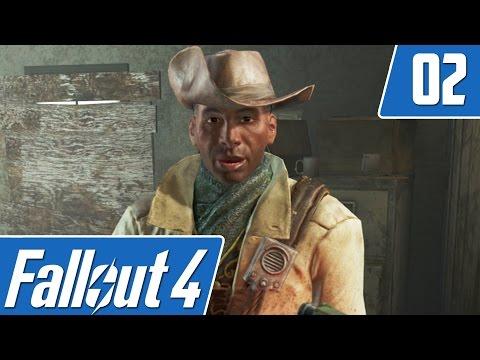 Fallout 4 Playthrough - Part 2 - Weapon Modification & Vault-Tec Perks!