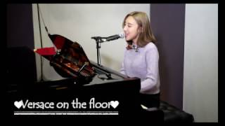 Bruno Mars - Versace on the floor Cover by Angela 許靖韻