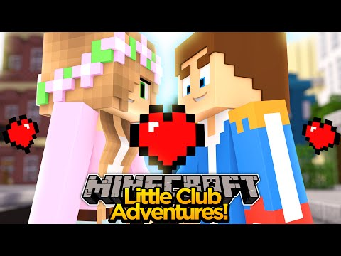 Minecraft Little club Adventures - Little Kelly's FIRST KISS