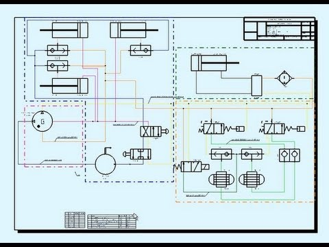 CATIA V6 Tubing-Hydraulic System-3D Design - YouTube