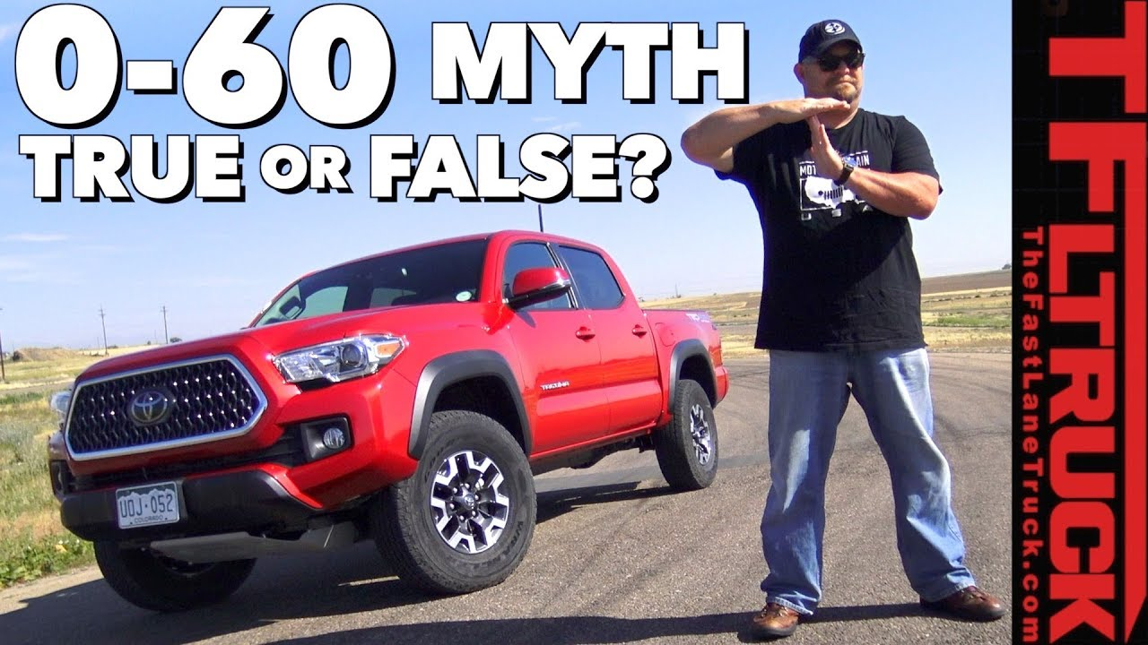True or False? Does Toyota's ECT Transmission Button Make The Truck Quicker?