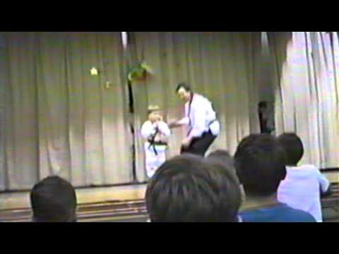 Greenhill Elementary School PTO 95 Ray Rice Martial Arts Nun Chuck Ka Scene