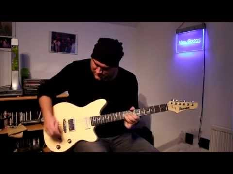 Ibanez Chris Miller Signature Guitar Test + Tech21 Fly Rig 5