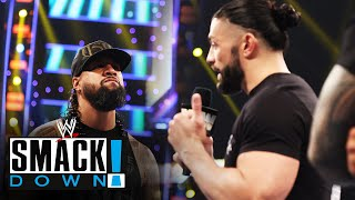 Jimmy Uso must decide whether he stands with Roman Reigns or against him: SmackDown, May 7, 2021