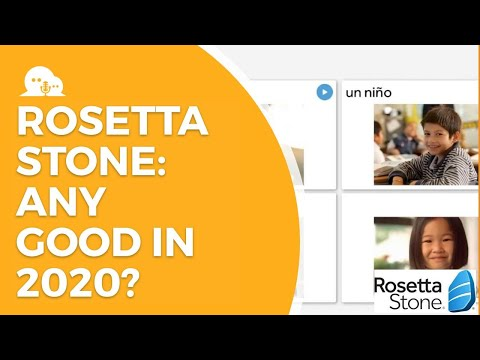 Rosetta Stone Quick Review 2020 - Has It Improved?