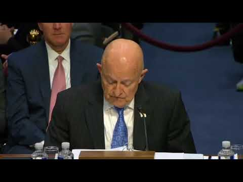 James Clapper's Opening Statement On Investigating Trump's Ties To Russia